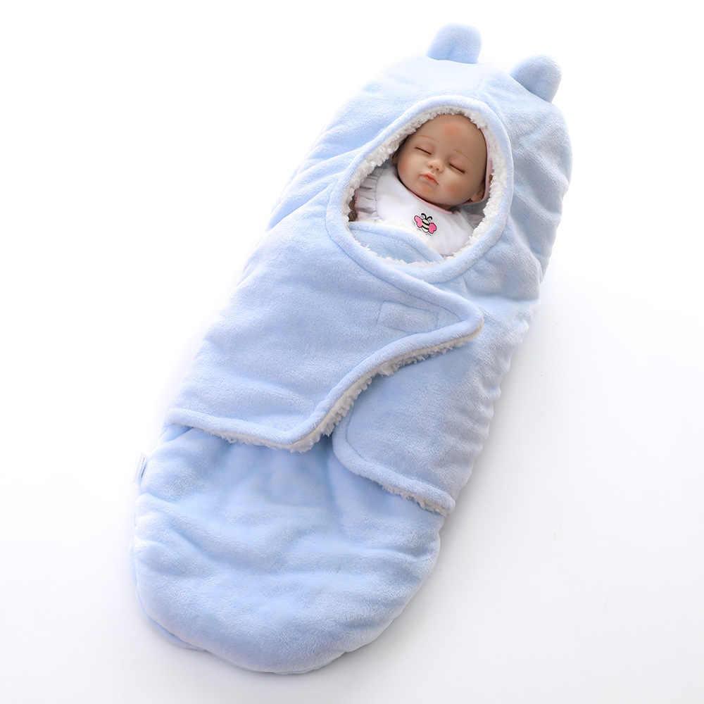 תינוק החתלה תינוקות יילוד תינוק לעטוף מעטפת חיתולי Swaddleme שינה תיק מוצק ילד ילדה Sleepsack