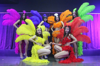cosplay bar opening stage party carnival brazil sex products feathers costumes samba dance costume suit for women sexy