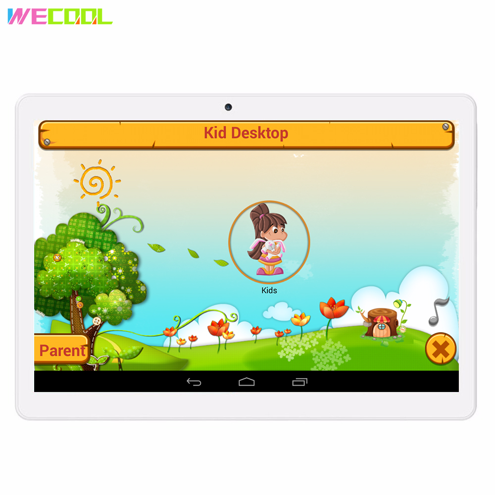 Lovely Wecool M102 10 Inch Kids Games Tablet Pc Quad Core 3g Phone Calling 16gb Pre-installed Kids Educational Apps Children Tablet Pc Finely Processed Computer & Office