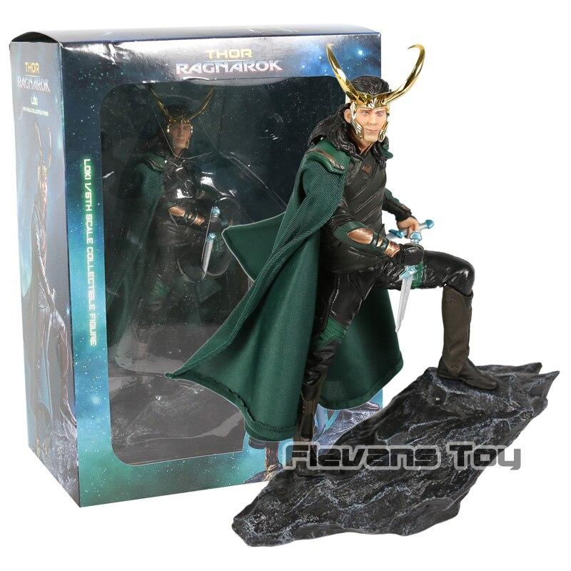Marvel Super Hero Film Thor Ragnarok The Avengers Loki Laufeyson Odinson Iron Studios Figure Figurine Toys figurine