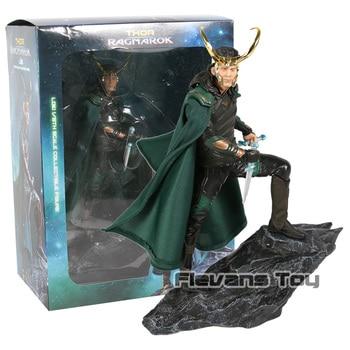 Marvel Super Hero Film Thor Ragnarok The Avengers Loki Laufeyson Odinson Iron Studios Figure Figurine Toys predator concrete jungle figure