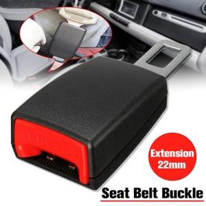 Image 1 - 1 Pcs 21mm Car Socket Seat Belt Clip Extender for Audi A3 A4 B6 B8 Audio A6 C6 8P C5 B7 A5 Q7 Q5 B5 Mitsubishi Outlander Lancer