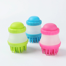 1PCS Pet Silicone Foot Wash Tool Gog Bath Massage Brush Hair Remover Shedding Shower Comb  Safe And Effective Cat