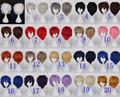 20 colors Available Short Top Quality Cosplay Synthetic Party Wig Hair
