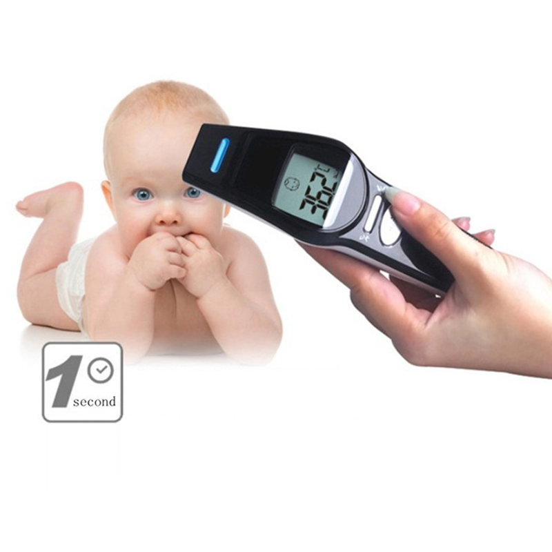 Baby thermometer kids infrared termometro digital testa forehead adult digital baby body mercury thermometer children monitors