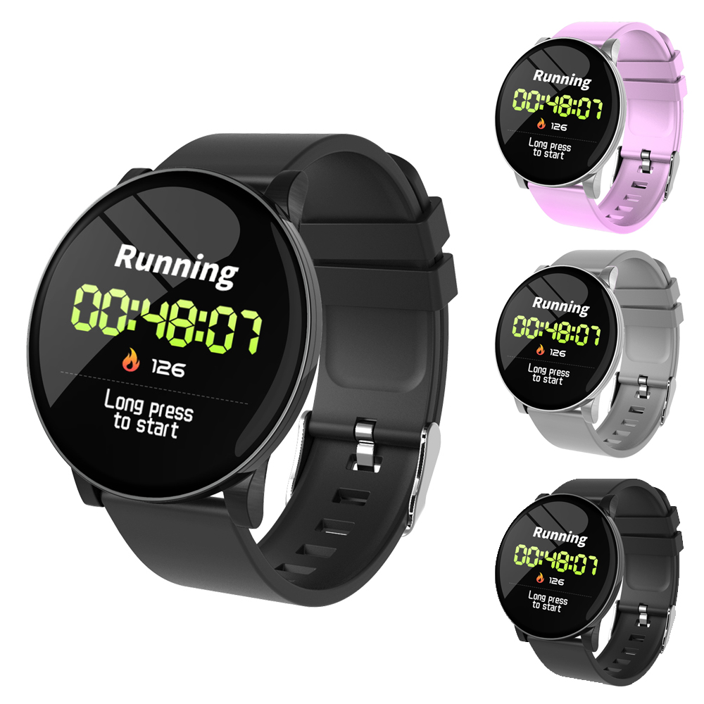Hot Sale W8 IP67 Smart Watch Ultra thin Racket Bright Screen Large View Heart Rate Blood Pressure Oxygen Monitor Bracelet Band