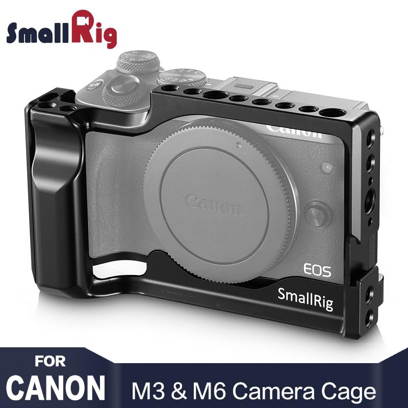SmallRig DSLR Caméra Cage pour Canon EOS M3 et M6 Forme Montage Léger Cellulaire Avec L'otan Rail Froide Chaussures montage 2130