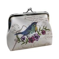 10pcs( ABDB Womens Lady Wallet Bag Coin Purse Clutch Handbag (Bird)