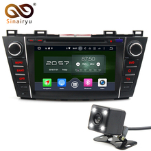 2Din Android6.0/7.1 Steering-Wheel Car DVD Multimedia Player Fit Mazda5 GPS Navigation4G+32G 8 Core 1080P Bluetooth OBD2