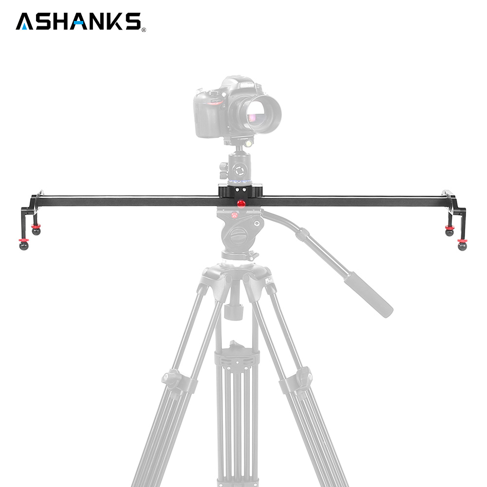 Camera Slider Aluminum Alloy Dolly Slider Track Video Stabilizer Rail Track Slider for DSLR Photo Studio 60cm/80cm/100cm/120cm 60cm mini camera video slr stabilizer 3 axis silent damping slide portable compact track slider rail system