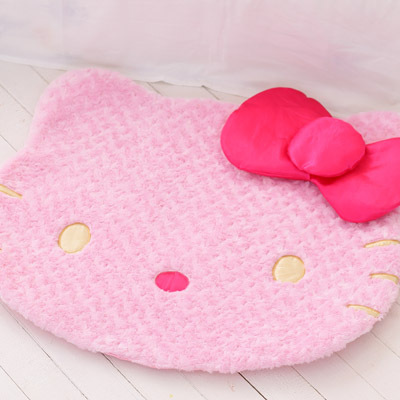 hello kitty plush cute cartoon kt bulk mats bedroom hall floor mats