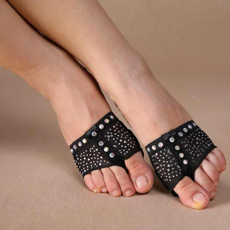 Latest Belly Dance Shoes Sequin Ultralight Sole Dancer Practice Protective Shoes