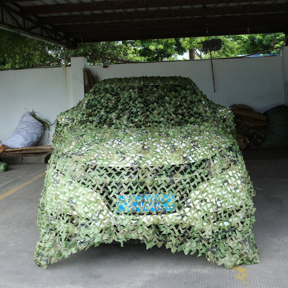 Camouflage Net Army Military Camo Net Car Covering Tent Hunting Blinds Netting Optional Size Long Cover Conceal Drop Net