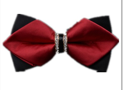 2018 fashion men men when the European and American style bow tie men men and groom comrades are married British sharp angle win