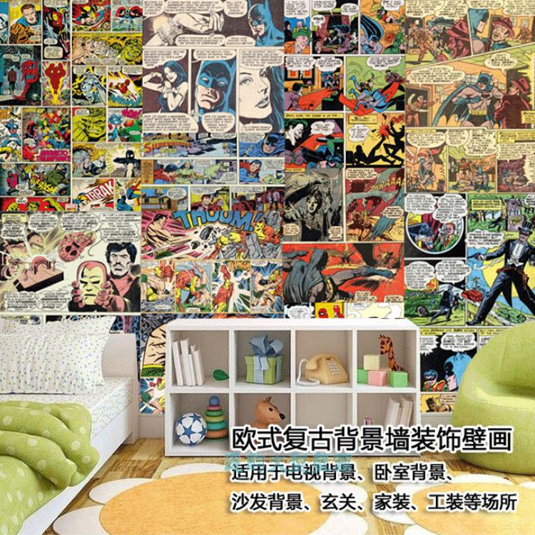 Online buy wholesale spiderman wallpaper from china - Poster mural spiderman ...