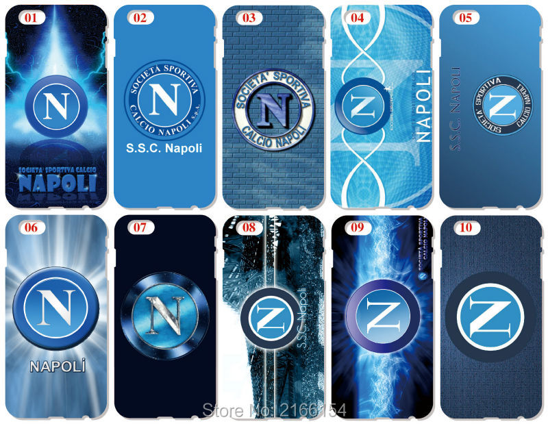 Napoli Football Cover For iphone X 4 4S 5 5S SE 5C 6 6S 7 8 Plus For iPod Touch 5 6 Hard Phone Case Capa Coque Shell Fundas