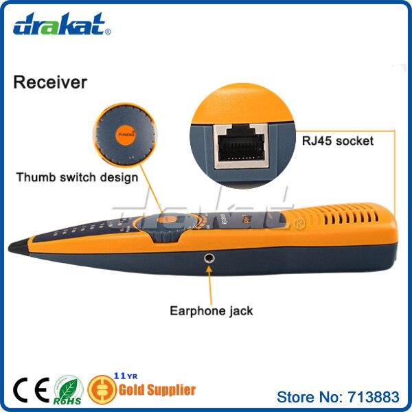 Traqueur de fil de testeur de câble réseau Lan - 5