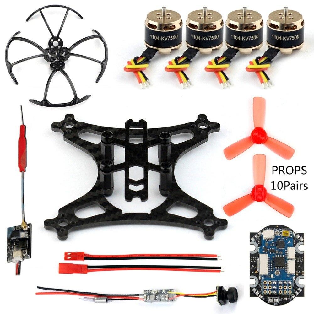 DIY ミニレーサードローンとカメラ 800tvl 25 メガワット伝送 SBUS/FS X6B/RFASB/R6DSM 受信機ブラシレスモーター rc Quadcopter  グループ上の おもちゃ & ホビー からの パーツ & アクセサリー の中 1