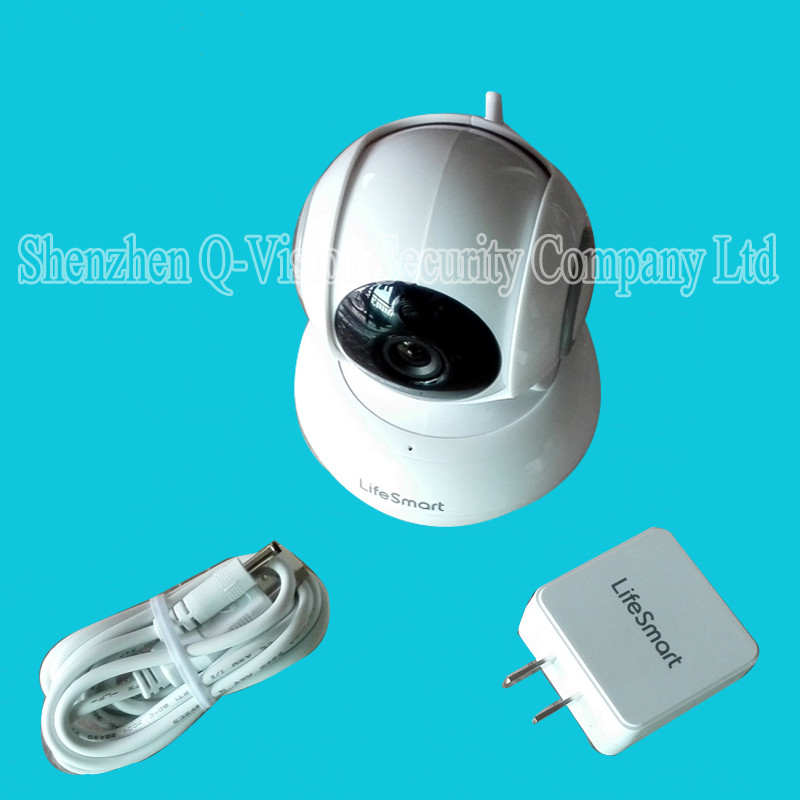 1-Lifesmart Home Automation Smart IP Camera Wifi Wireless Remote Control CCTV Camera for Security Alarm Night Vision 720P NTSCPAL