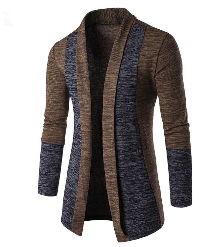 MRMT 2019 Brand New Men's Jackets Sweater Solid Color Casual Splicing Cardigan Overcoat For Male Sweater Jacket Clothing Garment