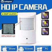 H.265/PIR Estilo H.264 HD $ NUMBER MP Cámara IP PoE de Seguridad CCTV Mini 3MP Cámara IP Audio WIFI Onvif + Invisible IR 940nm Noche visión