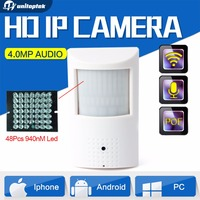 H 265 H 264 HD 4MP IP Camera PoE PIR Style CCTV Security Mini 3MP IP