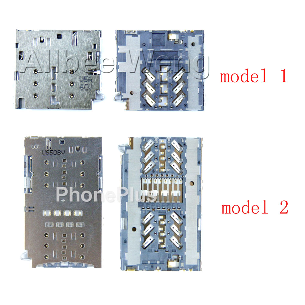 For Samsung Galaxy A320 A520 A720 2016 A3 A5 A7 2017 Version Sim Card Memory SD TF Tray Slot Holder Socket Reader