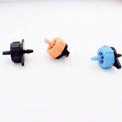 100 шт./упак. 2L 4L 8L Давление компенсации Dripper для стрелка капельная Системы капельного излучатель на линии капельницы микро капельного орошен...