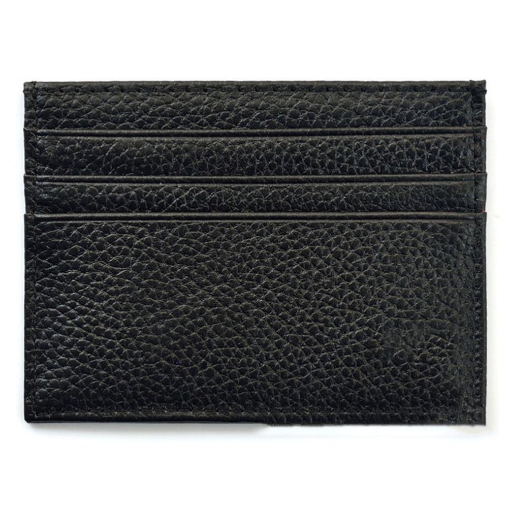 1 Stücke Leder Geld Clips Vintage Dünne Brieftasche Karte Fall Karten Schlüssel Halter Karten Pack Bargeld Tasche Eine VollstäNdige Palette Von Spezifikationen