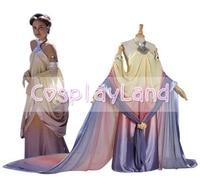 Star Wars Padme Amidala Cosplay Costume Long Party Dresses Halloween Costume for Women Adult Padme Princess Dress Costumes