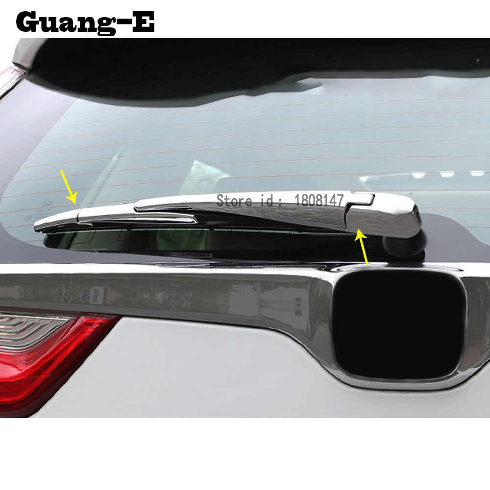 Top quality for honda crv cr v 2017 2018 car sticker abs chrome rear back