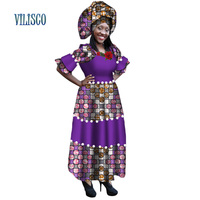 African Bazin Riche Dresses for Women Party Beads Imitation Pearls Embroidery Long Dress Plus Size African Women Clothing WY224