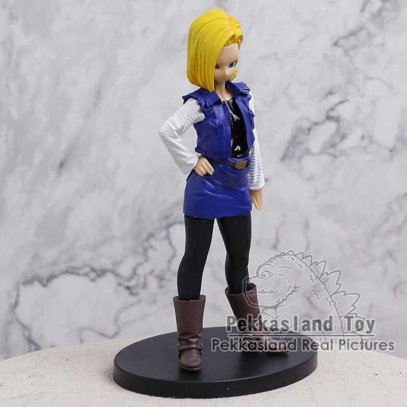 Dragon ball z kai dx android n° 18 pvc figura collectible modelo brinquedo 19cm