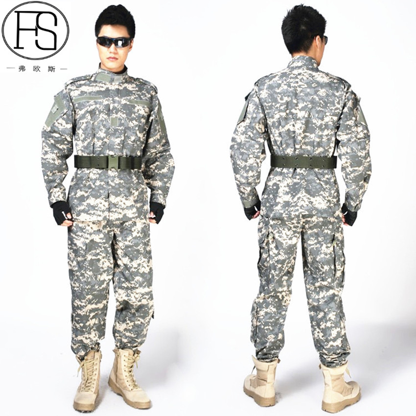 Men Camouflage Hunting Glothes Tactical Hunting Ghillie Suits Army Soldier Shooting Military Outdoor Uniform Airsoft Clothing camo suit outdoor game military hunting and shooting accessories tactical camouflage clothing blind for airsoft wildlife photog