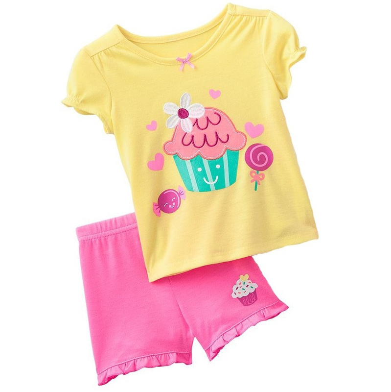 2ac5d38e8 NEW suit jumping beans girls pajamas suit children's clothing sets t shirts  baby suits blouses t shirt kids tshirt M1672-in Clothing Sets from Mother &  Kids ...