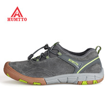 Famous Brand Mens Sports Outdoor Trekking Hiking Shoes Sneakers For Men Leather Climbing Mountain Shoes Mans Footwear