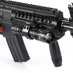 Image 3 - AloneFire TK104 CREE L2 LED Tactical Zoom Gun Flashlight Pistol Handgun Airsoft Torch Light Lamp for Outdoor hunting
