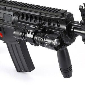 Image 3 - AloneFire TK104 CREE L2 светодиодный тактический зум пистолет, флэш светильник, пистолет, пистолет, страйкбол, фонарь светильник, лампа для охоты на открытом воздухе