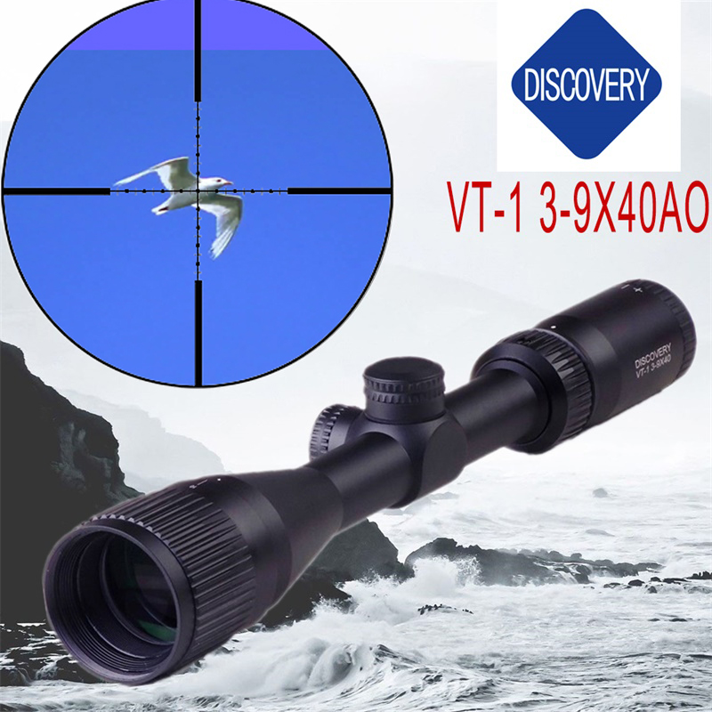 New Brand Discovery VT-1 3-9X40AO Alloy Riflescopes Optical Sight For Huntingscope gunscope outdoor Sight Optics Rifle Scope discovery rifle scope vt z 3 12x44sf large hand wheel side focusing tactical differentiation outdoor optical sight