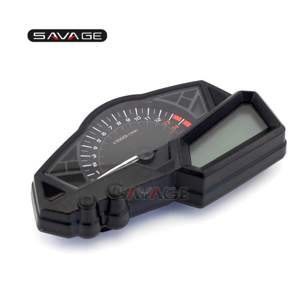 For KAWASAKI EX250R NINJA/NINJA 300 Motorcycle Meter New Genuine Speedo Tach Gauges Display Cluster Speedometer for kawasaki ninja 300 ex300a 2013 2015 motorcycle oem gauges cluster speedometer speedo tachometer instrument
