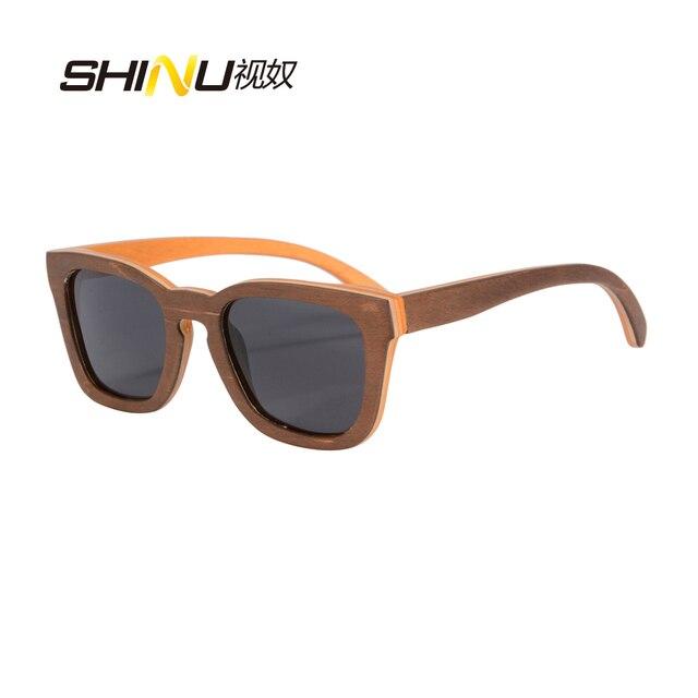 So Real Hand Polished Skateboard Wooden Frame Sunglasses Vintage ...