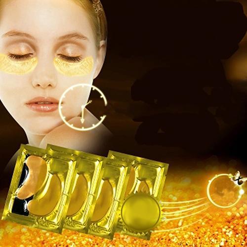 10Pack Moisturizing Collagen Gold Powder Eye Mask Anti Ageing Wrinkle Skin Care