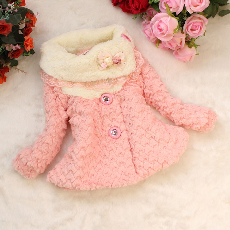 Children Autumn Winter Girl Clothing Cute Girls Coats Baby Girl Fashion Outerwear Kids Warm Coats Casual Toddler Clothes fashion brand autumn children girl clothes toddler girl clothing sets cute cat long sleeve tshirt and overalls kid girl clothes