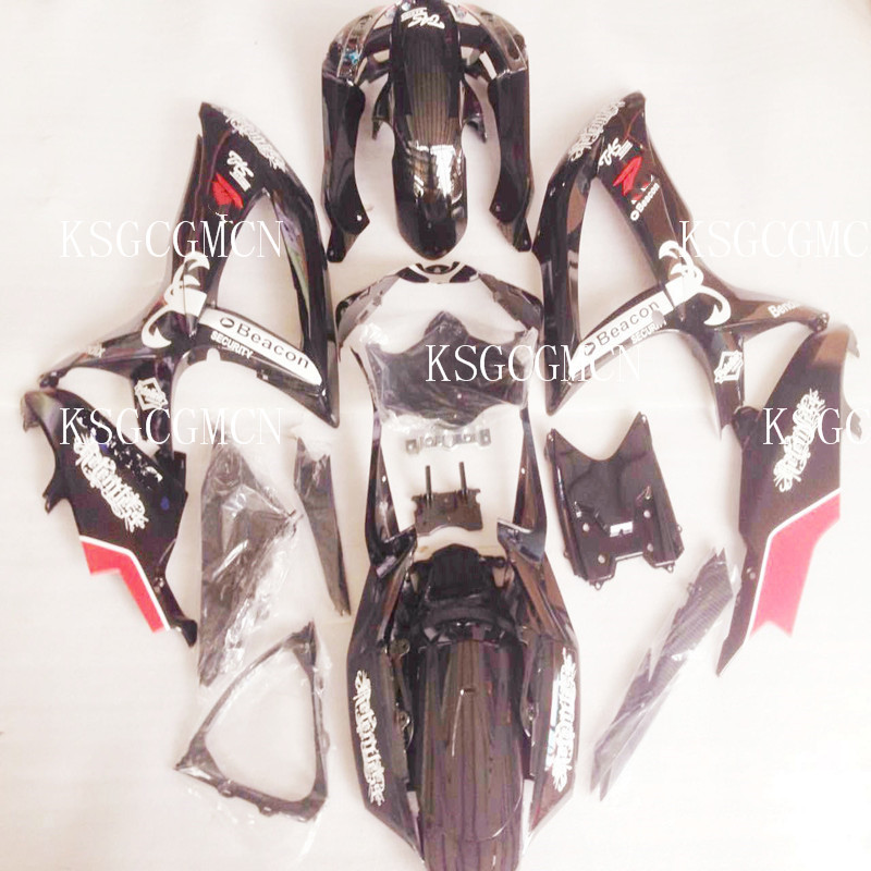 Injection mold ABS Plastic Complete Fairing Kits For <font><b>Suzuki</b></font> GSXR600 750 k8 <font><b>2008</b></font> 2009 2010 <font><b>GSX</b></font> <font><b>600</b></font> 750 K8 08 09 10 brand black image