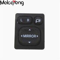 Power Mirror Control Switch 84872 52040 8487252040 Folding Rear View Power Mirror Switch For Toyota Rav4
