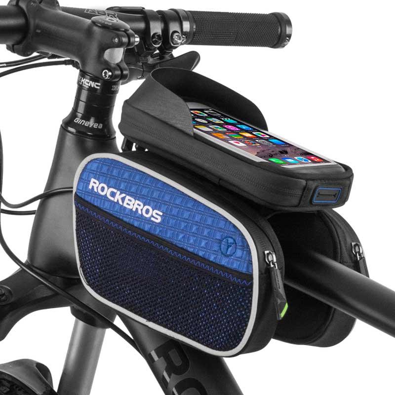 Rockbros 2017 Bike Bag Rainproof Touch Screen Mtb Cycling Bicycle
