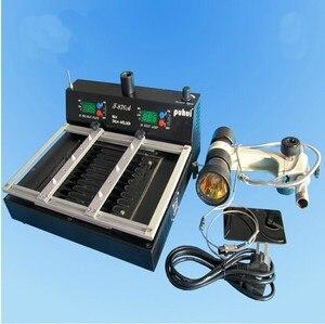 Image 4 - PUHUI T870A BGA IRDA Infrared Electric Rework Station Soldering Welder 35   50 mm CSP LGA QFP PLCC BGA Ball Rework 110V or 220V