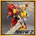 [Mostrar. Z Store] G1 Transformação Jinbao MMC Predaking Feral Rex 60 cm Action Figure Toy [N ° caixa]