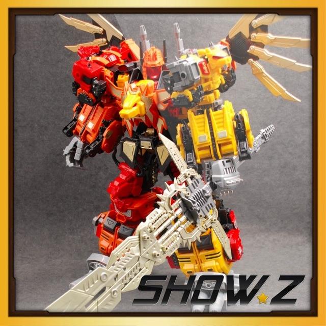 [Show.Z Store] G1 Transformation Jinbao MMC Predaking Feral Rex 60cm Action Figure Toy[No Box]
