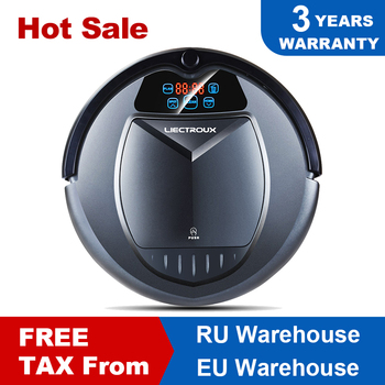 LIECTROUX B3000 Robot Vacuum cleaner Time Schedule Intelligent Cleaner with Wet/Dry Mopping Function